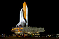 Space Shuttle Discovery STS-133 Rollout