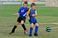 Cheetahs vs Royal Blue - 10-14-06 - Gardendale Elementary Field